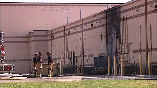 Firefighters Tackle Dangerous Situation At Tulsa Market