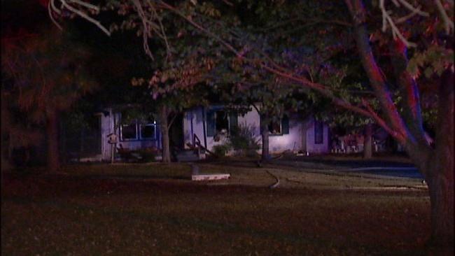 Rural Broken Arrow Home Damaged By Fire