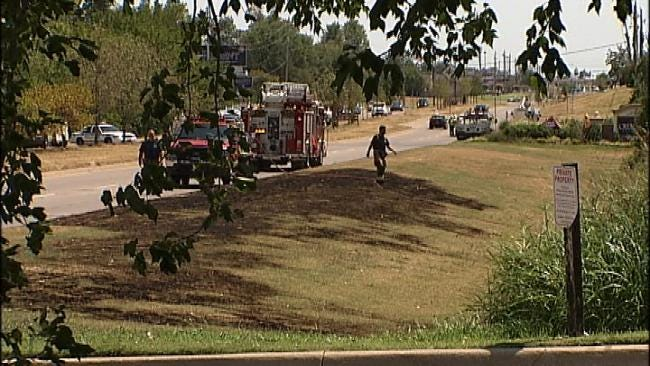 Semi Snags Power Lines, Causes South Tulsa Outages