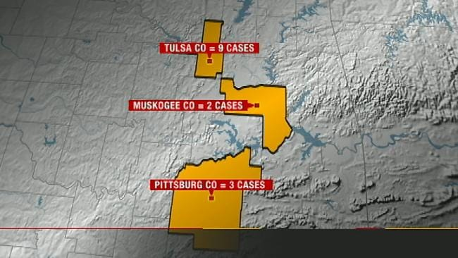 Tulsa Man One Of Nine In County To Contract West Nile