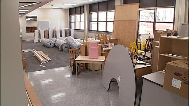Tulsa School System Makes Last Minute Preparations For School Year