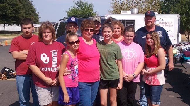 Oklahoma's Own Feed Creek County Wildfire Victims, Volunteers