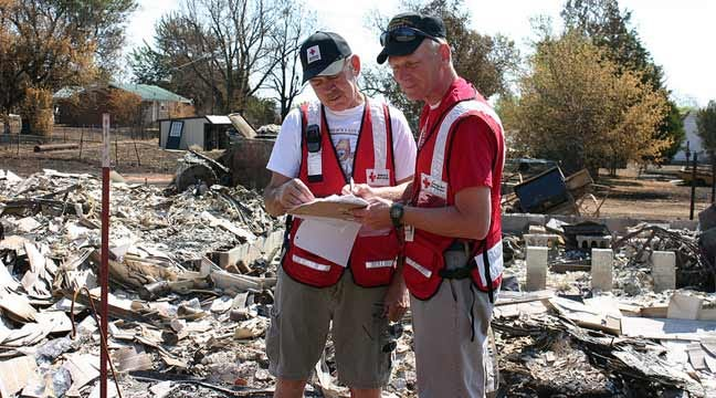 Red Cross Resource Center Offers Help For Wildfire Victims