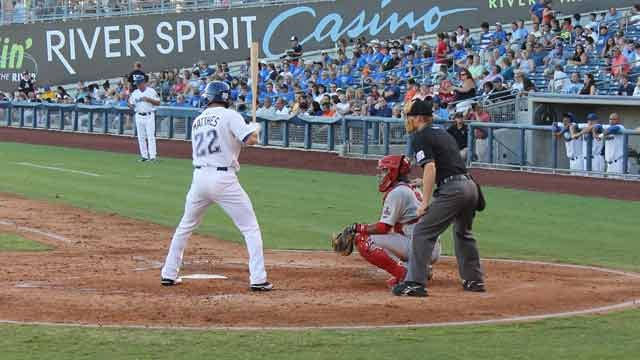 Drillers Put Game Away Early With Big Sixth Inning