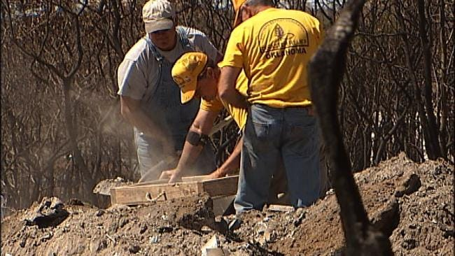 Disaster Relief Teams Rally To Help 'Ash-Out' Creek County