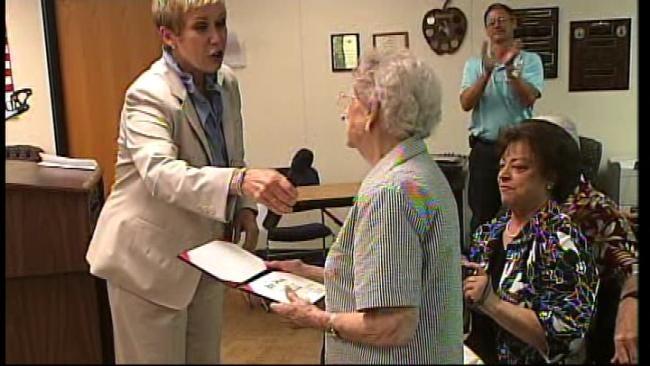 Elderly Oklahoma Woman Waits Lifetime For High School Diploma