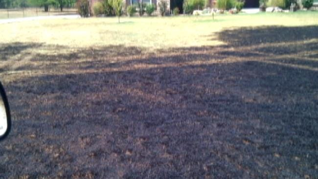 Knocked Down Power Lines Spark Rogers County Grass Fire