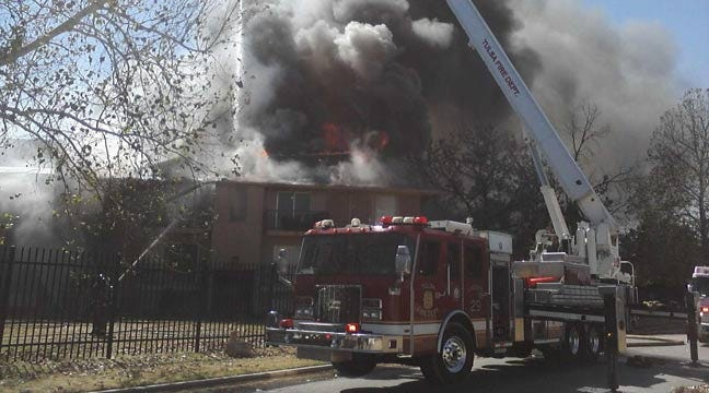 South Tulsa Apartment Fire Started By Child Playing With Lighter