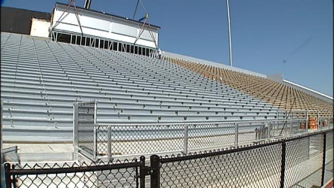 Renovations Finishing Up At Booker T. Washington High School Stadium
