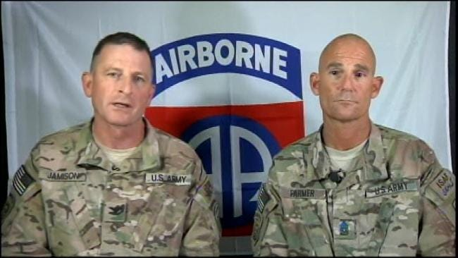 Broken Arrow Colonel Thanks Support From Oklahoma National Guard