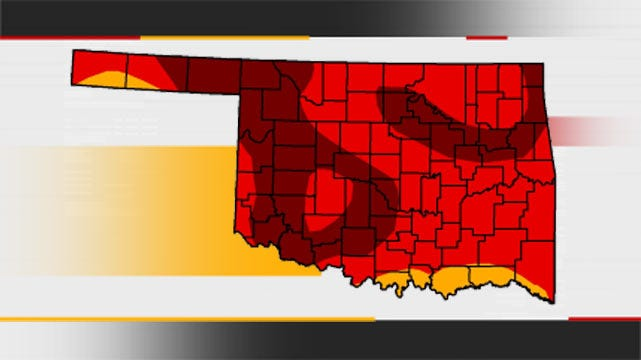 Exceptional Drought Conditions Expand Across Oklahoma
