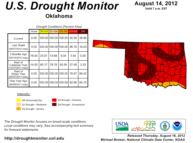 Pattern Change to Stunt Worsening Drought