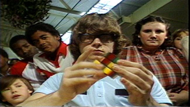 From The KOTV Vault: Remembering The Rubik's Cube Circa 1981