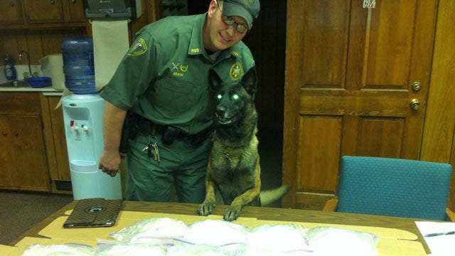 I-40 Traffic Stop Nets $1 Million In Crystal Meth, Muskogee County Officials Say