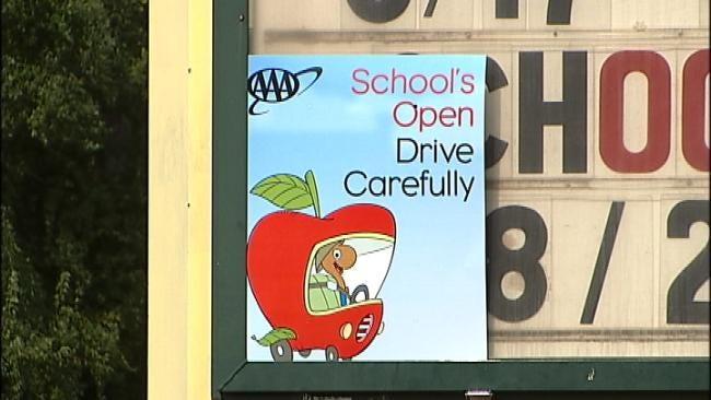 Tulsa Officers Beef Up Patrols In School Zones