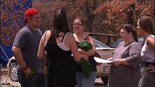 Green Country Woman Tries To Help Hometown Heal After Wildfires