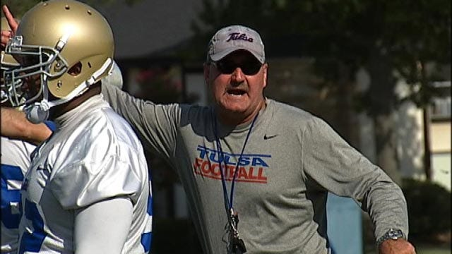 Tulsa Football Opens Practice With Eyes On Conference Title