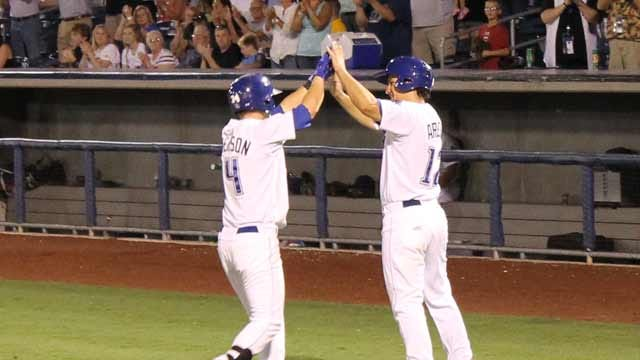 Drillers Win Close One Against Midland
