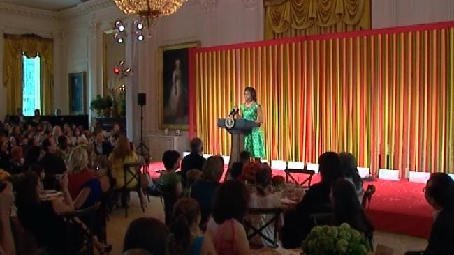 Oklahoma Boy Attends 'State Dinner' With First Lady