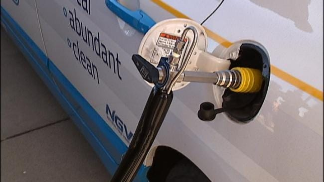 Owasso Dedicates New CNG Station With Vintage Look