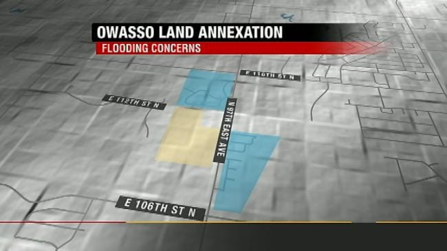 Owasso Residents Concerned About Annexation Of Flood-Prone Land