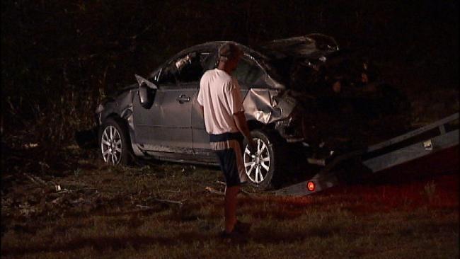 Driver Injured In Car Crash On Highway 117 In Sapulpa