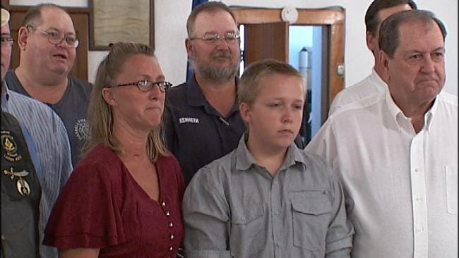 Community Comes Together To Support Volunteer Firefighter's Family