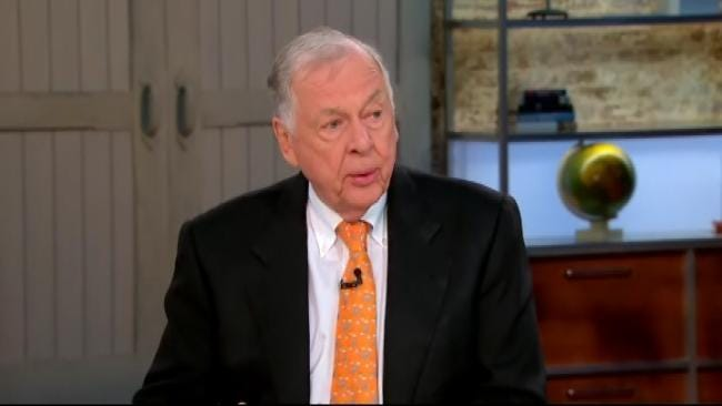 T. Boone Pickens Critical Of Romney And Obama Energy Plans