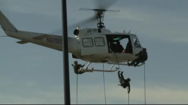 Agents Spot Marijuana Fields In Eastern Oklahoma From The Air