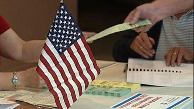 Early Voting Friday, Saturday And Monday For Oklahoma Primary Runoff