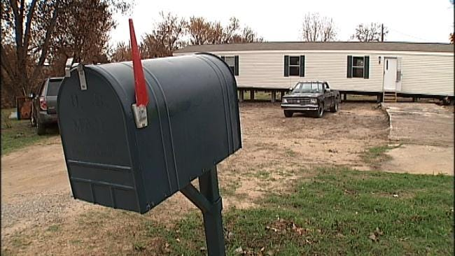 Gift Moves Mannford Family From Tent To New Home
