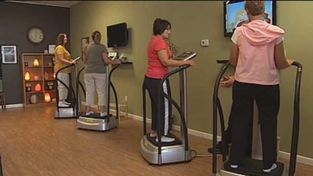 Oklahomans Experience Whole Body Vibration