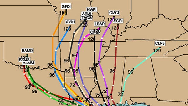 Will Isaac Deliver Much Needed Rain For Oklahoma?