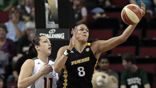 Cambage says Olympics is why she will miss the rest of the Tulsa Shock season