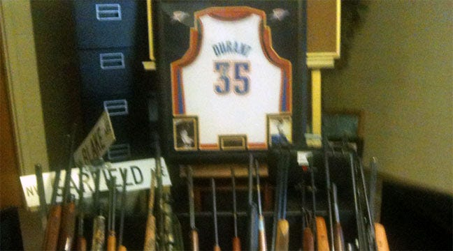 Police Recover $20,000 In Loot Including Signed Kevin Durant Jersey
