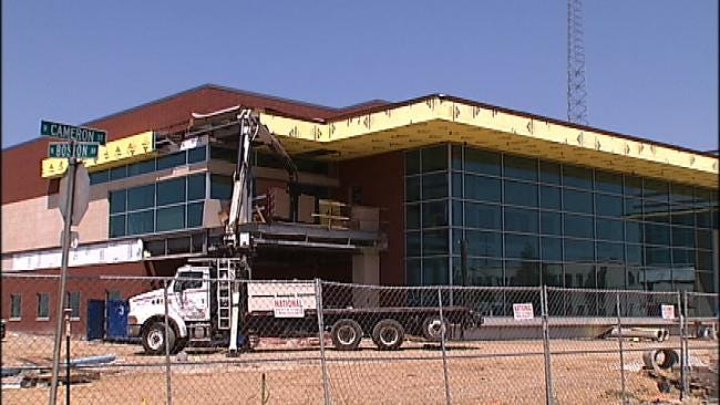 Broadcasting Equipment Arrives At New Griffin Communications Building