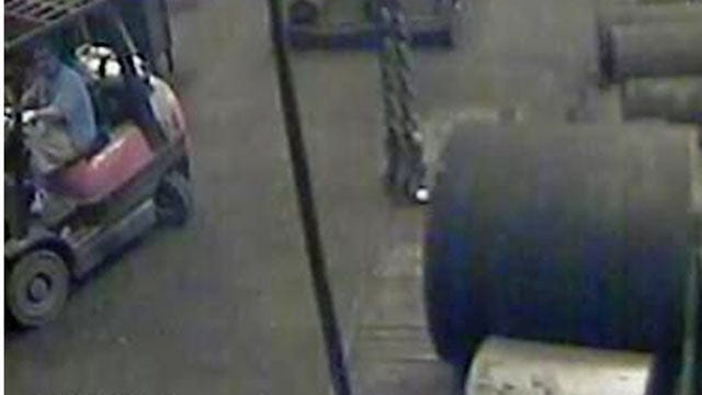 Man Uses Forklift To Steal Money From Tulsa Vending Machines