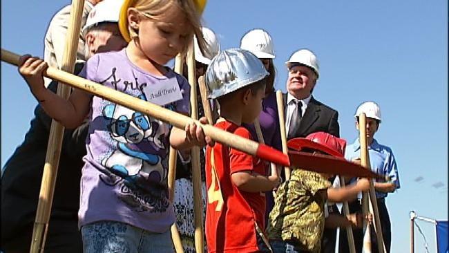 Union Public Schools Breaks Ground On Pre-School Center
