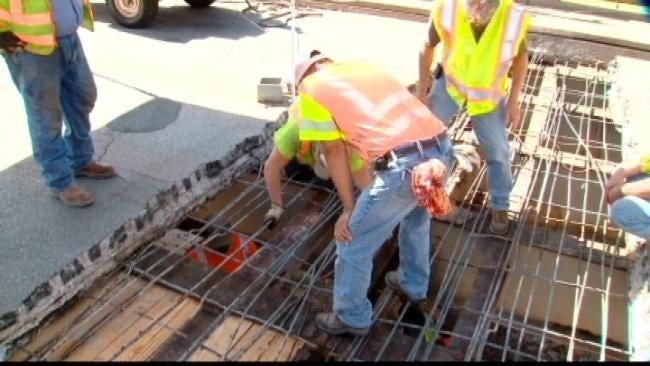 Guthrie Bridge Buckles In Heat