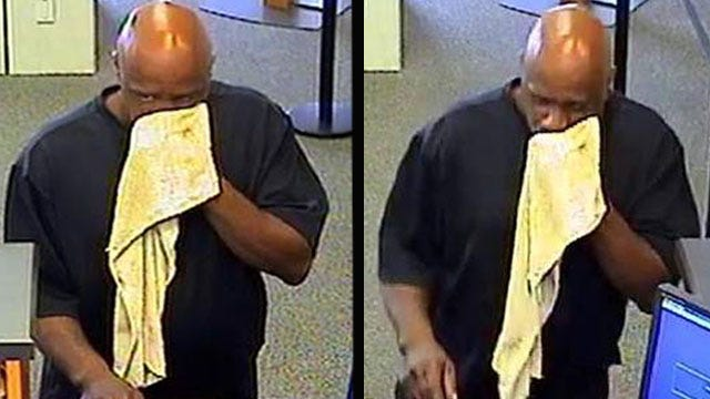 Police Search For Man Who Robbed Downtown Tulsa Bank Of America