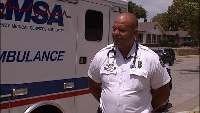 Tulsa Paramedic Surprised To Be Heat Exhaustion Patient
