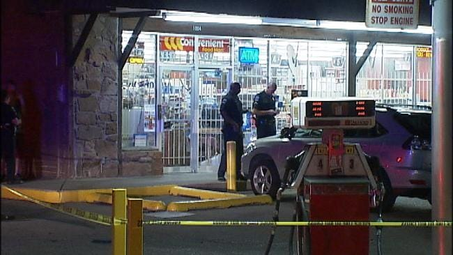 Tulsa Store Owner Shot During Robbery, Wife Sees It Live Via Web Cam
