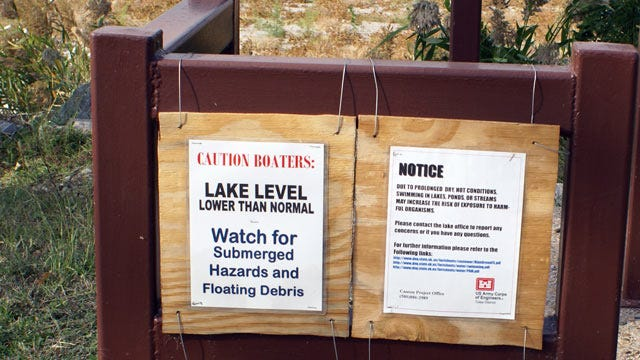 Army Corps Of Engineers: Low Lake Levels At Its 9 Oklahoma Lakes