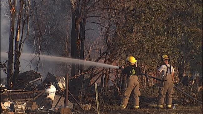 Mayes County Family Loses Home To Fire Caused By Sparks From Tractor