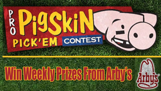 Pigskin Pick'Em: Register Now To Play And Win