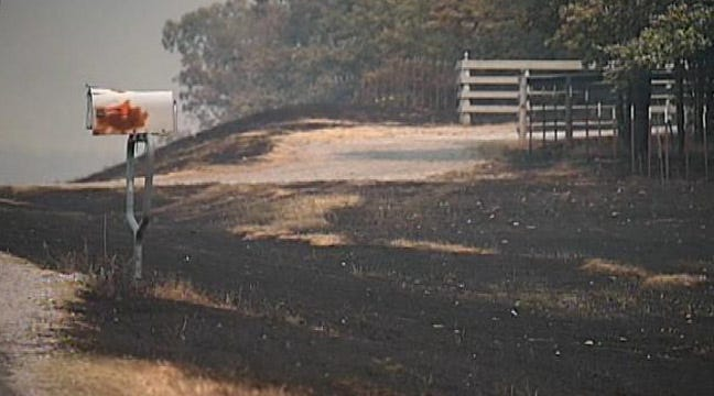 Drumright Residents Can Return After Wildfires; Caution Urged