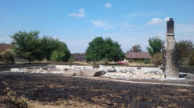Some Creek County Residents Return Home To Ashes