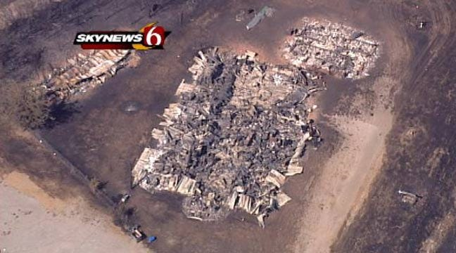 New Report: 209 Homes Lost In Creek County Wildfires