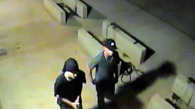 Tulsa Copper Thieves Caught On Surveillance Camera Sought