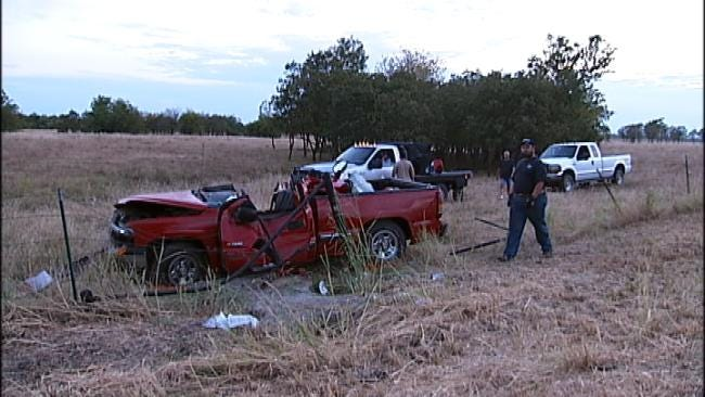 OHP: Cell Phone Leads To Crash Near Oologah